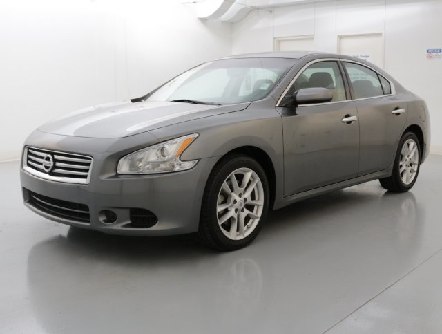 2014 Nissan Maxima 35 S Gray POWER SUNROOFMOONROOF CLEAN ONE OWNER CARFAX HISTORY REPORT