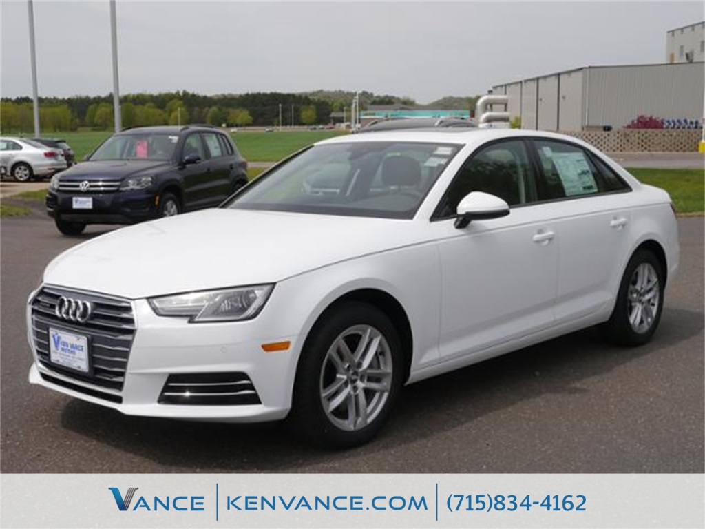 2017 Audi A4 White Turbocharged Quattro How appealing is this terrific 2017 Audi A4 This fan