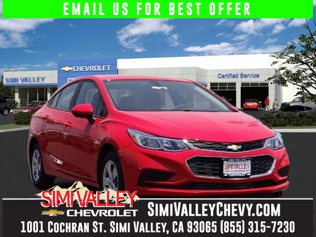 2016 Chevrolet Cruze LS Red Turbo Red Hot NEW ARRIVAL  If youre looking for comfort and rel