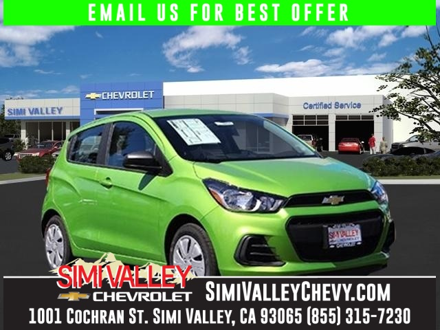2016 Chevrolet Spark LS Green The Simi Valley Chevrolet Advantage Here it is NEW ARRIVAL  Ar