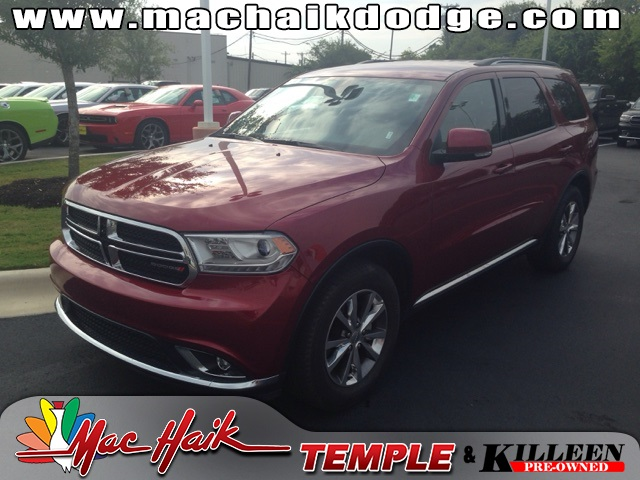 2014 Dodge Durango Limited Red CLEAN ONE OWNER CARFAX HISTORY REPORT CERTIFIED WARRANTYTak