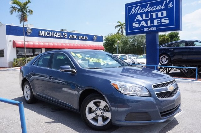 2013 Chevrolet Malibu LTZ Blue Its time for Michaels Auto Sales Ready to roll If you demand