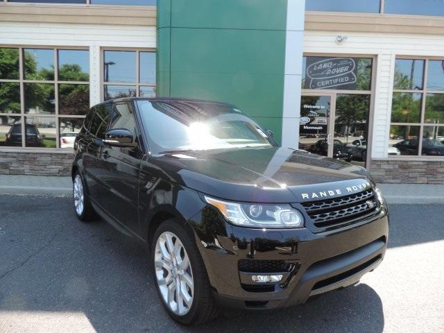 2016 Land Rover Range Rover Sport 50L V8 Supercharged Black Navigation System8 SpeakersAMFM r