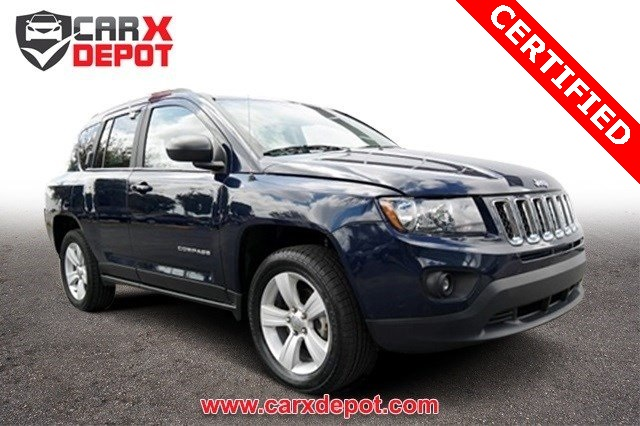 2014 Jeep Compass Sport Blue CLEAN CARFAX ONE OWNER LOW MILES NON-SMOKER CE