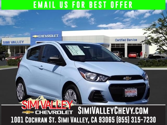 2016 Chevrolet Spark LS Blue Come to Simi Valley Chevrolet Real Winner NEW ARRIVAL  Are you