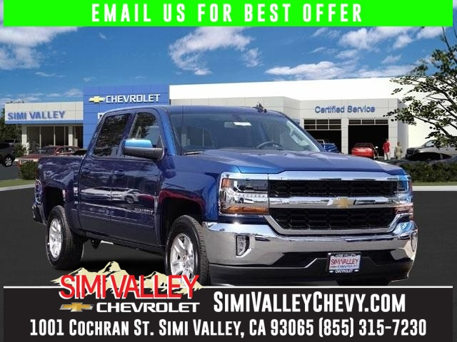 2016 Chevrolet Silverado 1500 LT Blue Short Bed Crew Cab NEW ARRIVAL  This 2016 Silverado 15