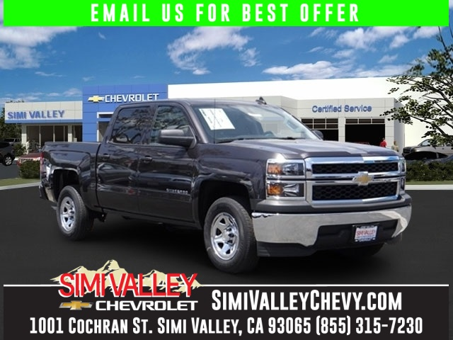 2015 Chevrolet Silverado 1500 LS Gray Theres no substitute for a Chevrolet What are you waiting