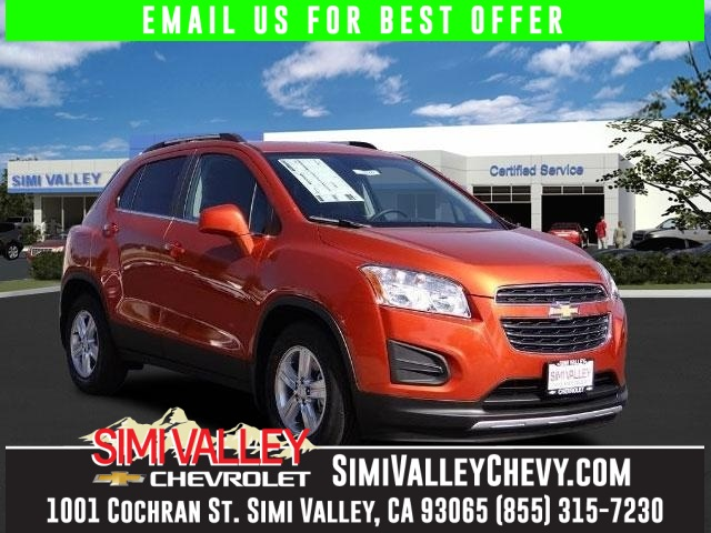 2016 Chevrolet Trax 1LT Orange Turbocharged Best color NEW ARRIVAL  This wonderful 2016 Chev