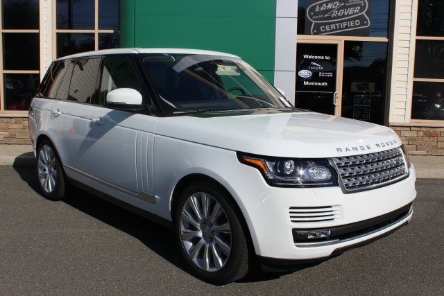 2016 Land Rover Range Rover White TBD Axle Ratio4-Wheel Disc BrakesAir ConditioningElectronic