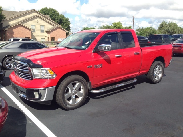 2014 Dodge Ram 1500 Big Horn Red SUPER CLEAN CERTIFIED WARRANTY CLEAN CARFAXThis 2014 Ra