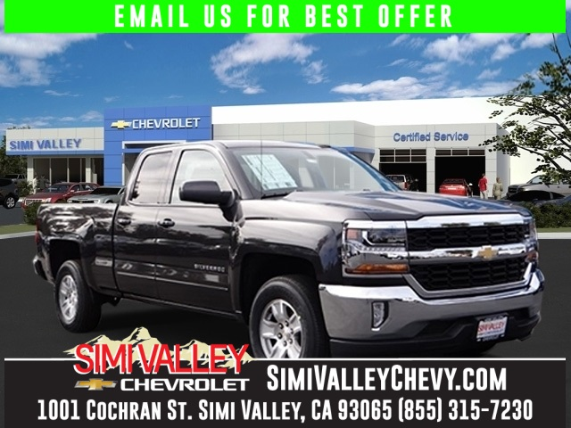2016 Chevrolet Silverado 1500 LT Gray Short Bed Extended Cab NEW ARRIVAL  This superb-lookin