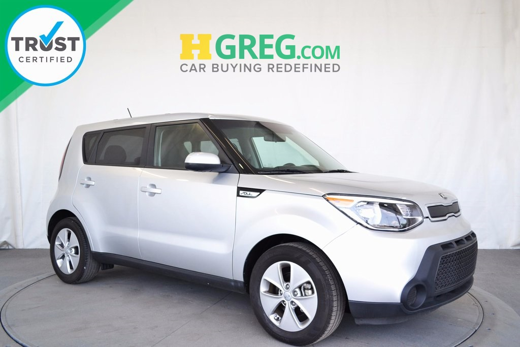2015 Kia Soul Silver ONE OWNER BE AWARE THAT THIS VEHICLE IS PRICED 4450 UNDER Kelley