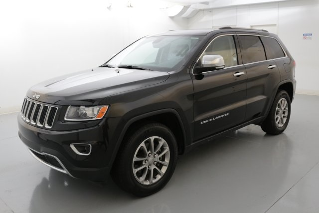 2014 Jeep Grand Cherokee Limited Black CERTIFIED PRE-OWNED LIMITED PACKAGE Beautiful Brilli