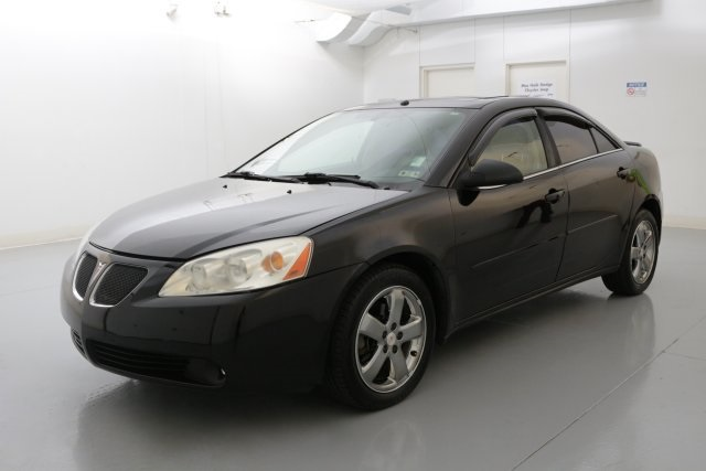 2007 Pontiac G6 GT Black PANORAMIC SUNROOFMOONROOF CLEAN CARFAX HISTORY REPORTConfused abo