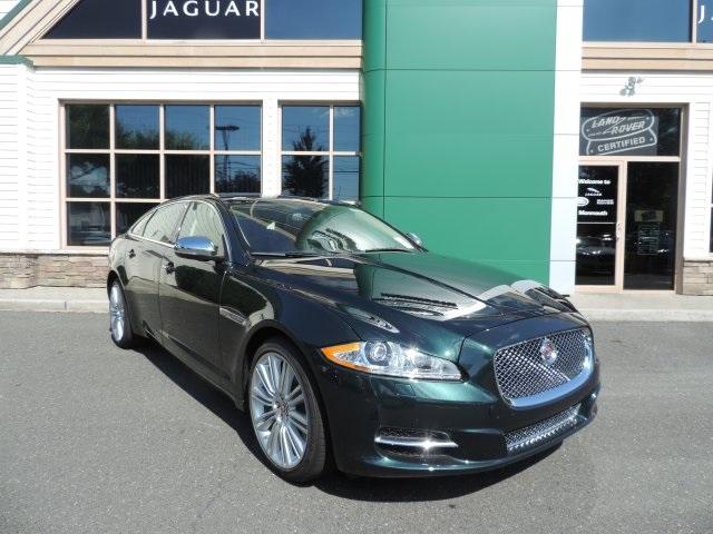 2015 Jaguar XJ XJL Portfolio Green 19 Toba 5 Double-Spoke Alloy WheelsFront HeatedCooled Bucke