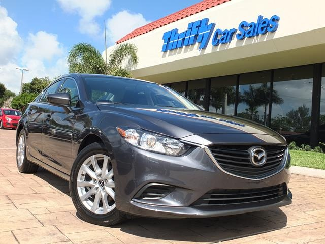 2015 Mazda Mazda6 i Gray ONE OWNER AUTOMATIC STILL UNDER FACTORY WARRANTY and  R