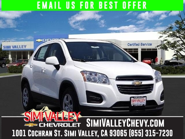 2016 Chevrolet Trax LS White Turbo Switch to Simi Valley Chevrolet NEW ARRIVAL  This great 2