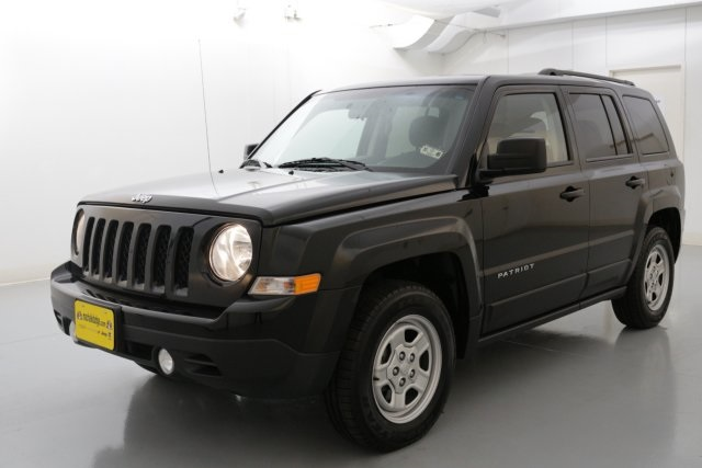 2015 Jeep Patriot Sport Black CERTIFIED WARRANTY CLEAN ONE OWNER CARFAX Take your hand off