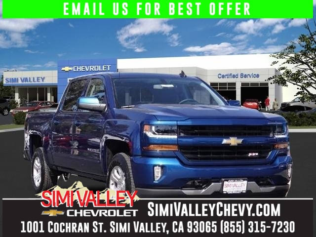 2016 Chevrolet Silverado 1500 LT Blue 4 Wheel Drive Crew Cab NEW ARRIVAL  This stunning 2016