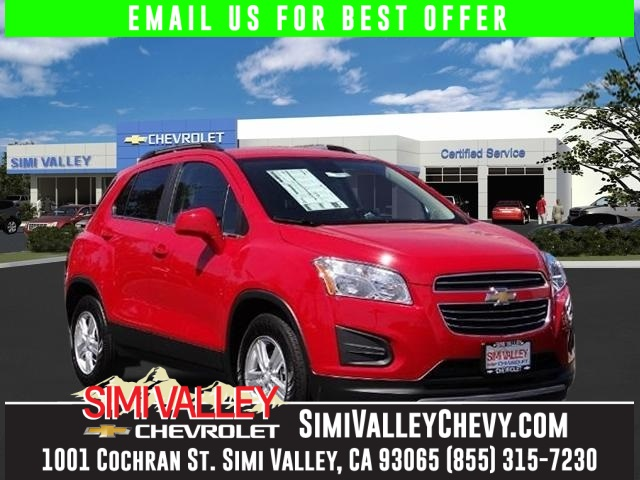 2016 Chevrolet Trax 1LT Red Youll NEVER pay too much at Simi Valley Chevrolet Real Winner NEW