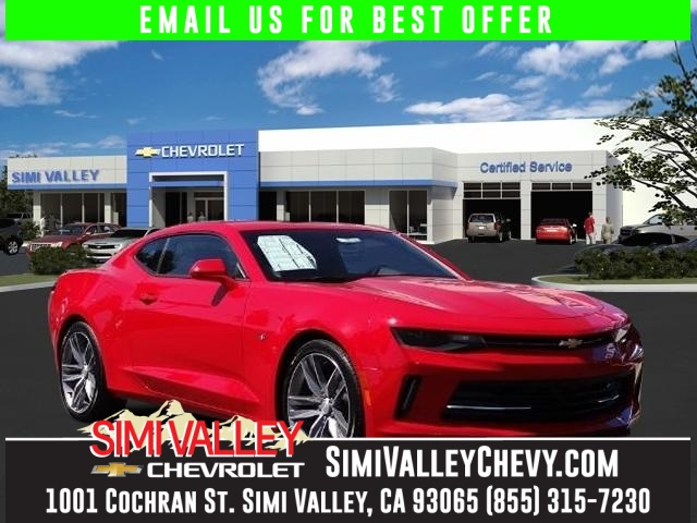 2016 Chevrolet Camaro 1LT Red Red Hot Turbocharged NEW ARRIVAL  This gorgeous 2016 Chevrolet