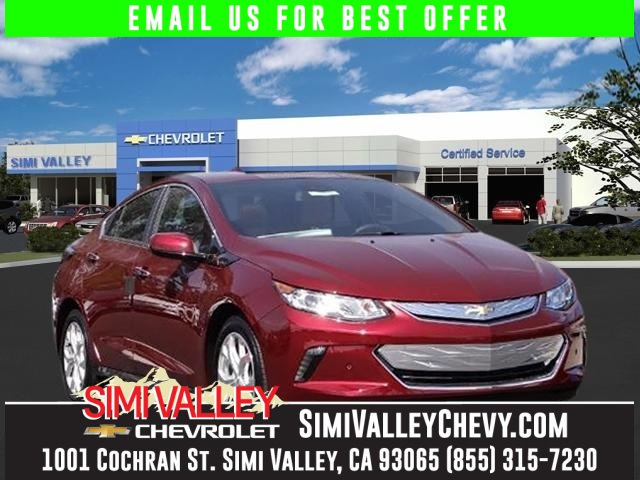 2017 Chevrolet Volt Premier Red Hybrid Save the Planet Switch to Simi Valley Chevrolet NEW ARR