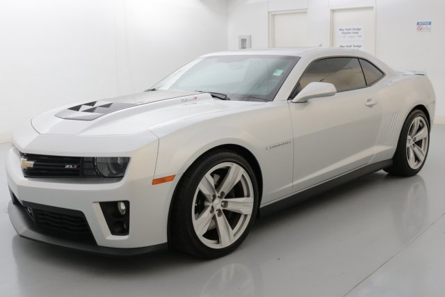 2013 Chevrolet Camaro ZL1 Silver NAVIGATION POWER SUNROOFMOONROOF ZL1 CAMARO Low miles