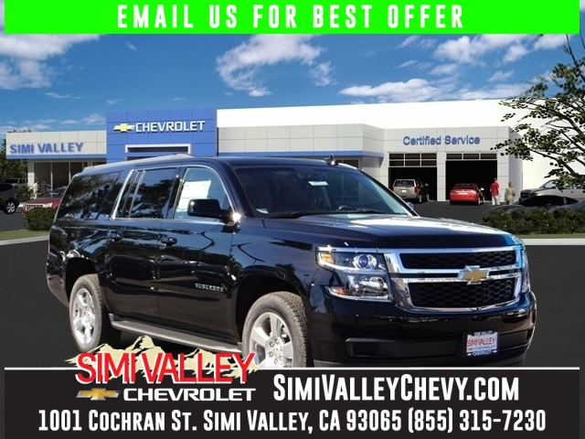 2016 Chevrolet Suburban LT Black Flex Fuel At Simi Valley Chevrolet YOURE 1 NEW ARRIVAL