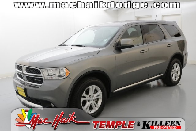 2012 Dodge Durango SXT Gray POWER SUNROOFMOONROOF CLEAN CARFAX HISTORY REPORT Road trip re