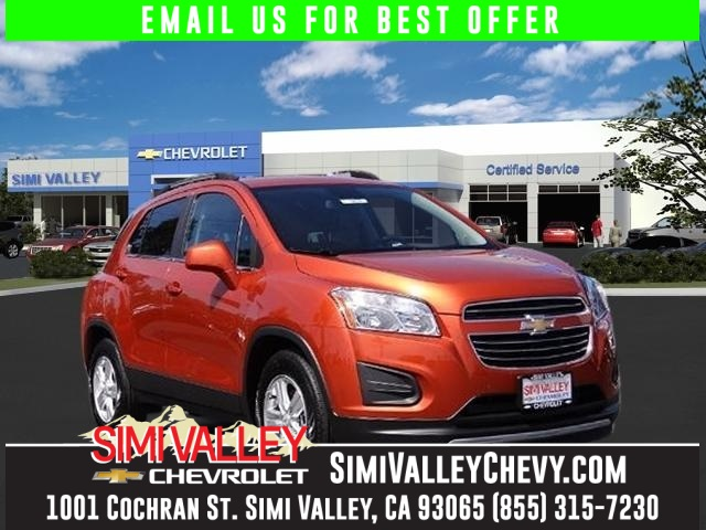2016 Chevrolet Trax 1LT Orange Hold on to your seats Its time for Simi Valley Chevrolet NEW AR