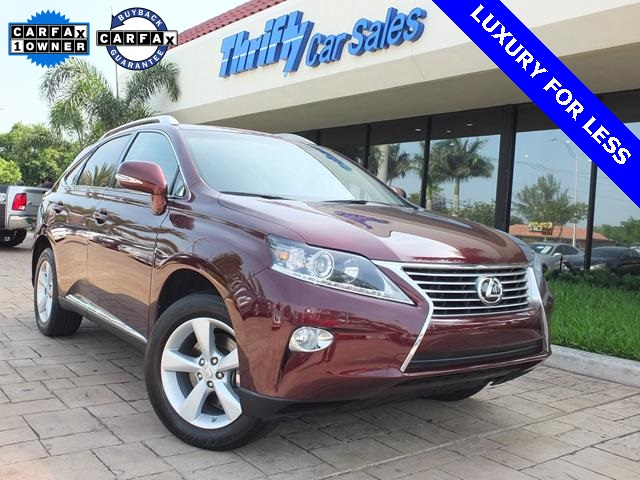 2014 Lexus RX 350 Red ACCIDENT FREE CARFAX ONE OWNER LEATHER AUTOMATIC MOON