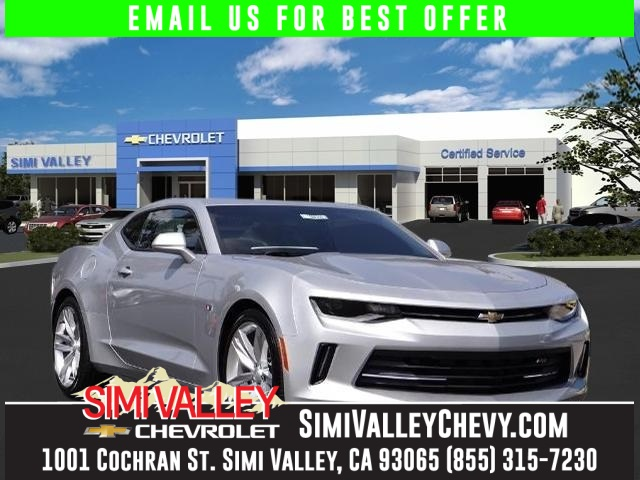 2016 Chevrolet Camaro 1LT Silver 6 speed manual Turbocharged NEW ARRIVAL  If youre looking