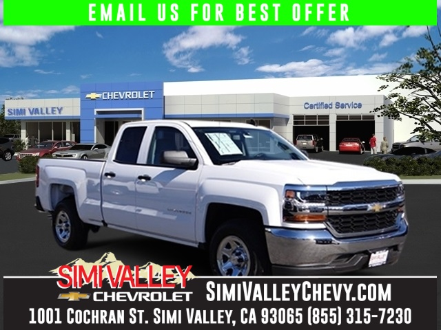 2016 Chevrolet Silverado 1500 White Short Bed Extended Cab NEW ARRIVAL  Chevrolet has outdon