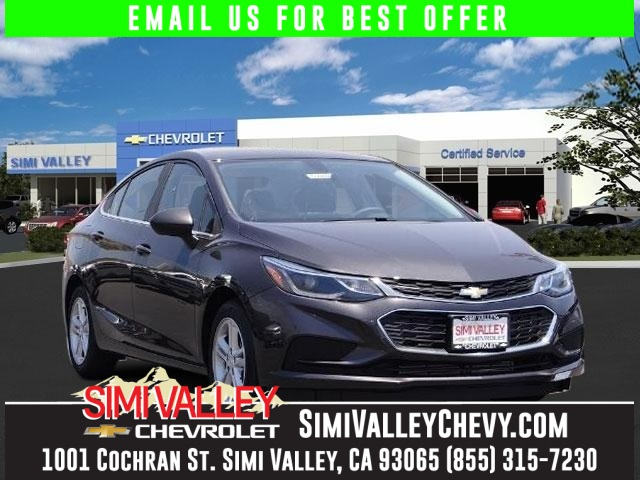 2016 Chevrolet Cruze LT Gray Dont bother looking at any other car Stroll on down here NEW ARRI