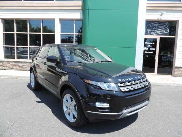 2015 Land Rover Range Rover Evoque Pure Black 375 Axle Ratio18 Lightweight Alloy WheelsFront