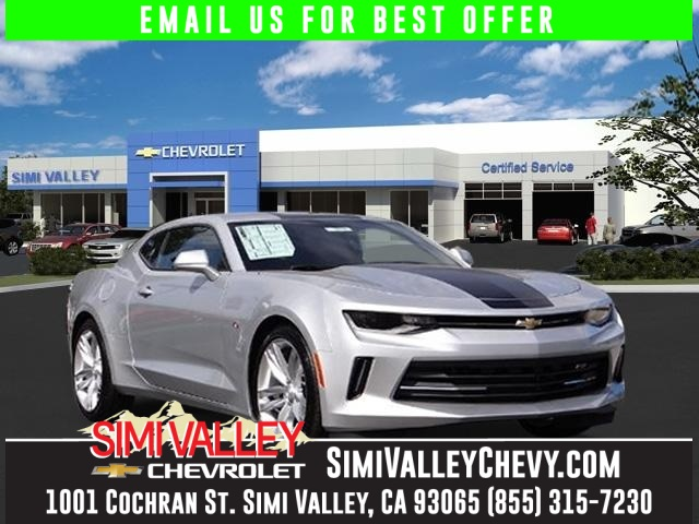 2016 Chevrolet Camaro 2LT Silver 6 speed manual Turbocharged NEW ARRIVAL  If youre looking
