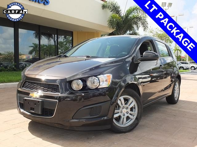 2015 Chevrolet Sonic LT Black AUTOMATIC CERTIFIED PRE-OWNED STILL UNDER FACTORY WARRA