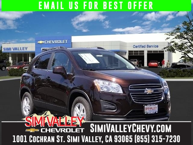2016 Chevrolet Trax 1LT Brown Turbocharged Right SUV Right price NEW ARRIVAL  If youre loo