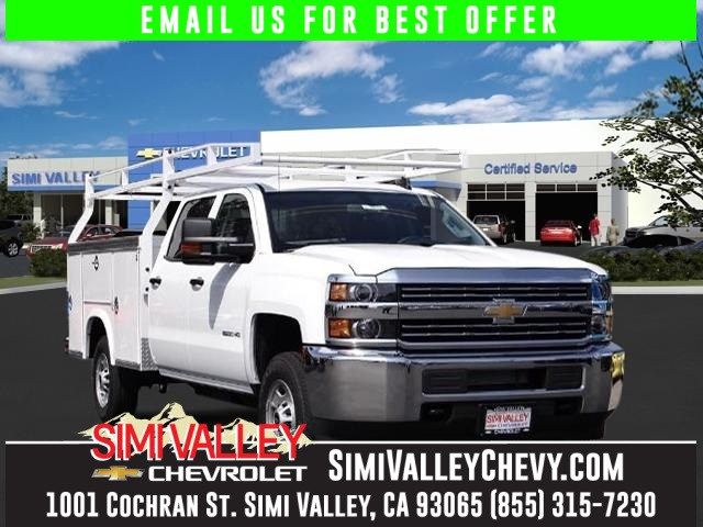 2016 Chevrolet Silverado 2500HD Work Truck White Long Bed Crew Cab NEW ARRIVAL  If youre lo