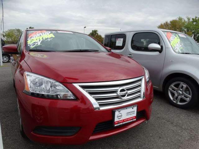 2013 Nissan Sentra S Red Nissan Certified CVT Xtronic and Charcoal wCloth Seat Trim Drives lik