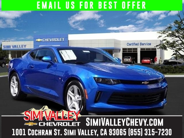2016 Chevrolet Camaro 1LT Blue Turbo Talk about a deal NEW ARRIVAL  Do you want it all espe