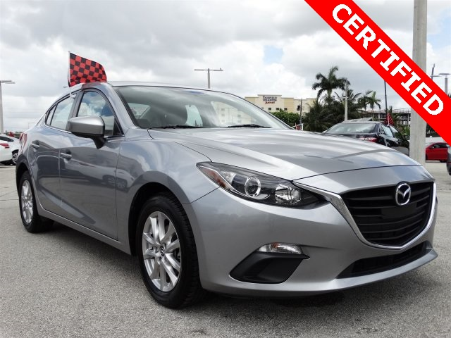 2014 Mazda Mazda3 i Silver CLEAN CARFAX ONE OWNER LOW MILES NON-SMOKER CERT