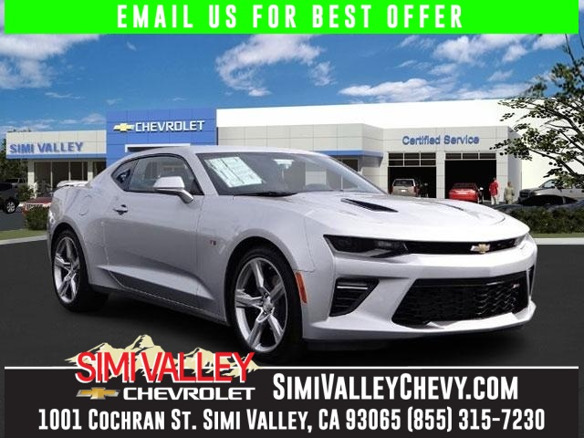2016 Chevrolet Camaro SS Silver Stick shift 6spd NEW ARRIVAL  Just think of all the work you