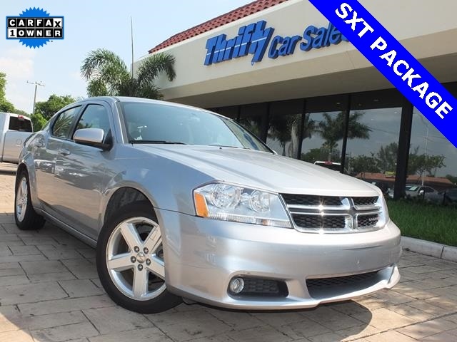 2013 Dodge Avenger SXT Silver ACCIDENT FREE CARFAX AUTOMATIC STILL UNDER FACTORY WARR