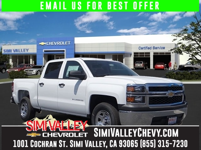 2015 Chevrolet Silverado 1500 White Nice truck Its time for Simi Valley Chevrolet NEW ARRIVAL