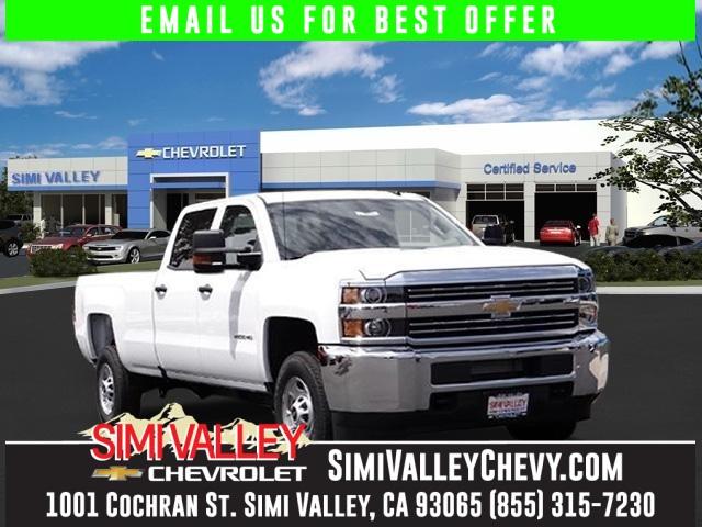 2016 Chevrolet Silverado 2500HD Work Truck White Crew Cab Flex Fuel NEW ARRIVAL  This wonder