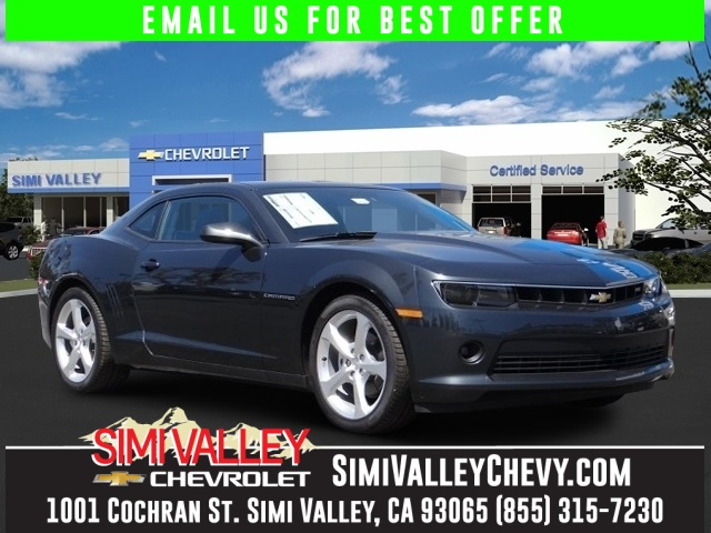 2015 Chevrolet Camaro 1LT Gray Rear Vision Package RS Package and AMFM Stereo wNavigation Re