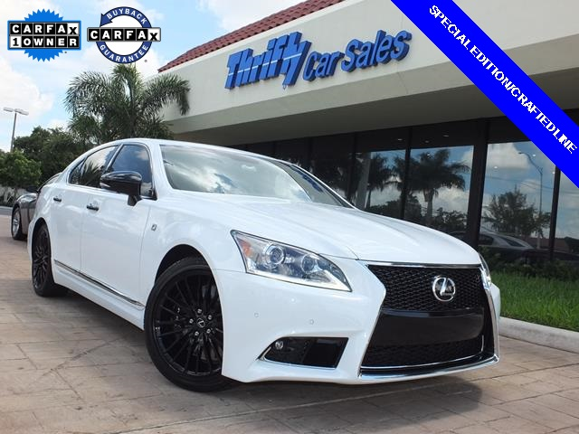 2015 Lexus LS 460 White ACCIDENT FREE CARFAX ONE OWNER LEATHER AUTOMATIC MO