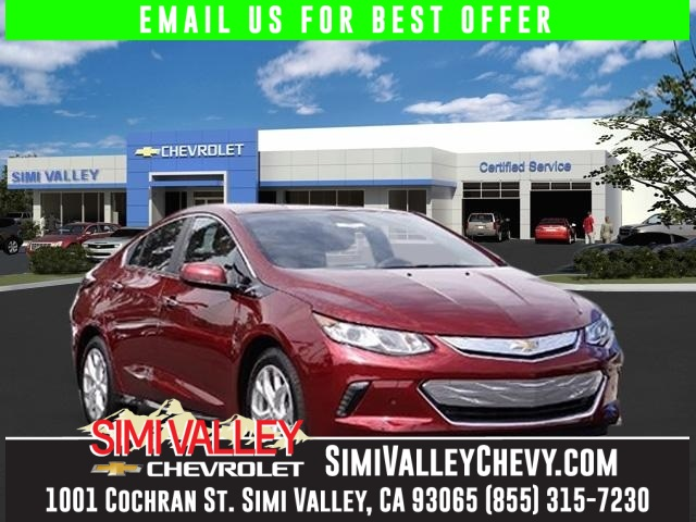 2017 Chevrolet Volt Premier Red Environmentally-Friendly Hybrid Talk about a deal NEW ARRIVAL