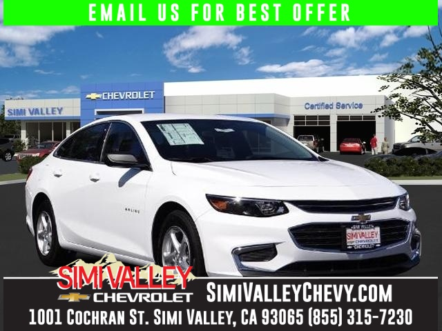 2016 Chevrolet Malibu LS White Turbocharged Drive this home today NEW ARRIVAL  If youre loo